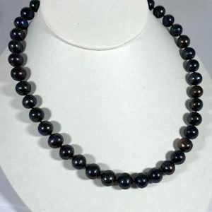Black Cultured Pearl Strand