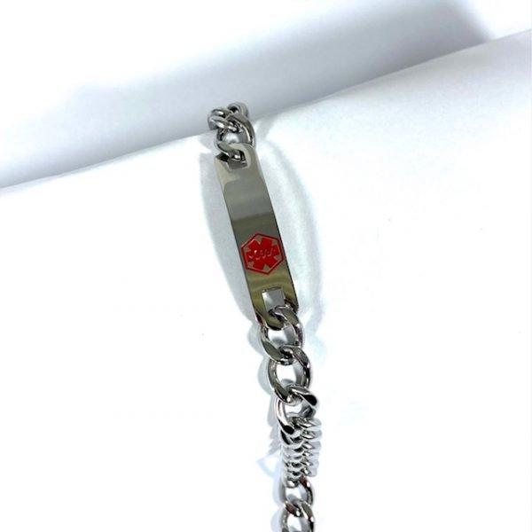 Medical ID Bracelet Heavy Chain