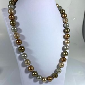20″ Multi-Colored Pearl Strand