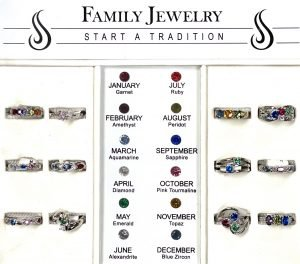 Birthstones and Birthrings