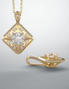 Matching Diamond Jewelry