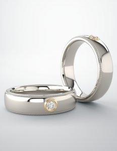 Mens Diamond Rings VT