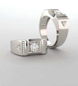 Mens Diamond Rings Vermont
