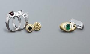 Mens Gemstone Rings VT