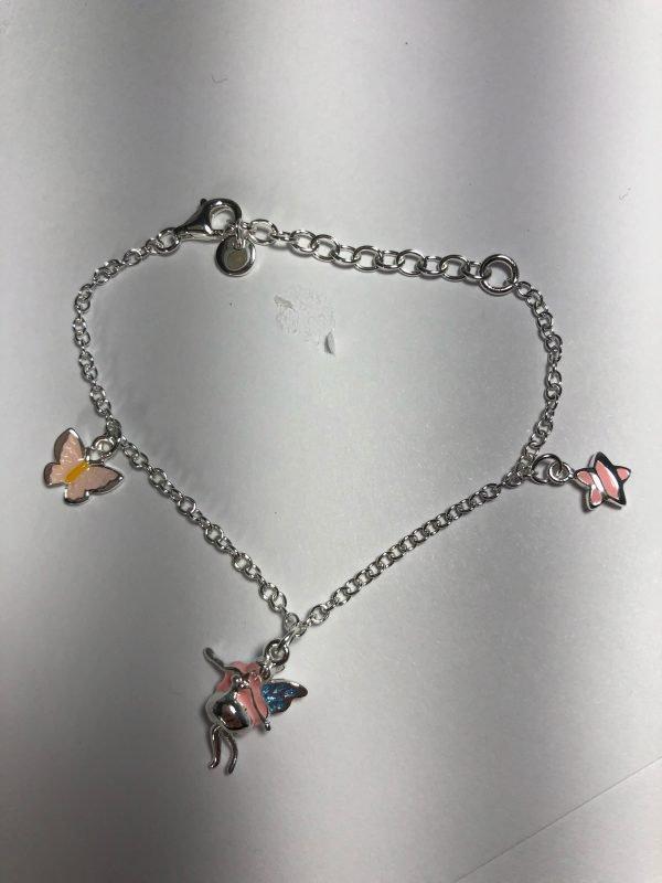 Sterling Fairy Bracelet
