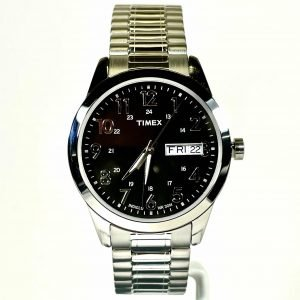 Men's Timex South Street Sport Steel Expansion Band Watch