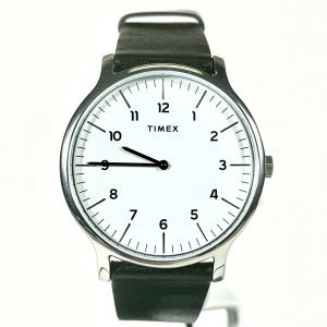 Timex Norway 40mm Leather Strap Watch